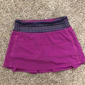 Magenta lululemon skirt size 4